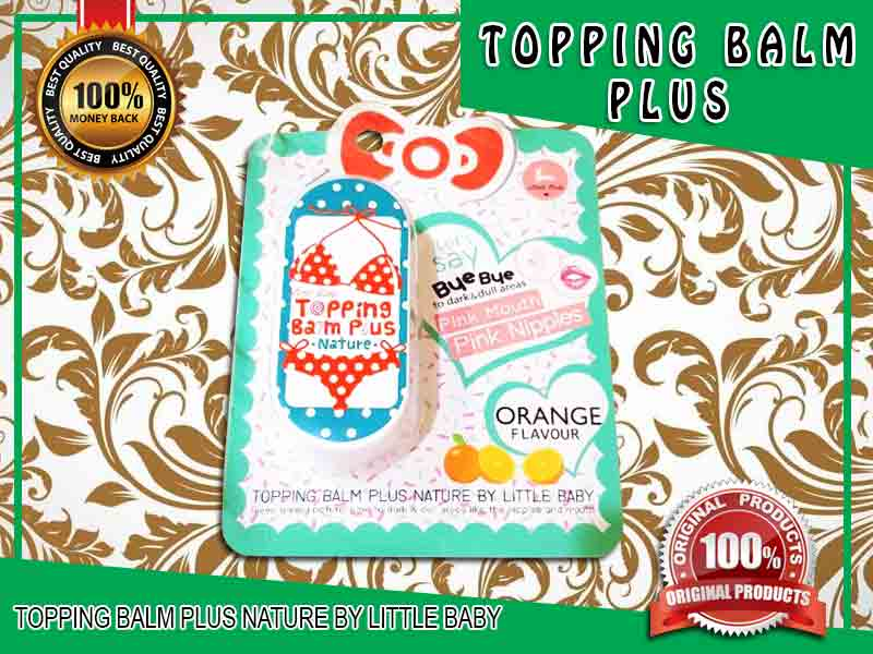 PROMO Cream Pencerah Puting Topping Balm Plus di Penajam