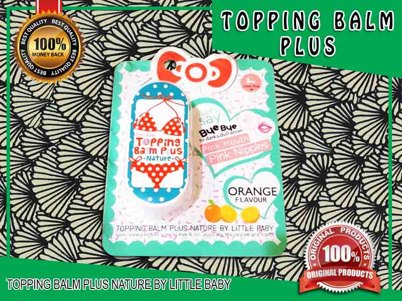 Jual Cream Pencerah Puting Topping Balm Plus di Menggala
