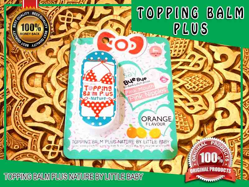 PROMO Cream Pencerah Puting Topping Balm Plus di Solok