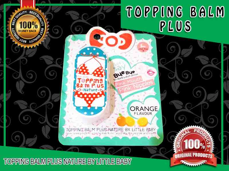 PROMO Cream Pencerah Puting Topping Balm Plus di Lumajang